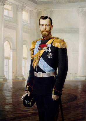 Tsar Nicholas II in Naval Uniform